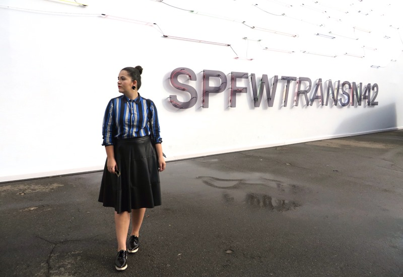 look do dia SPFWTRANSN42 Semana de Moda de SP