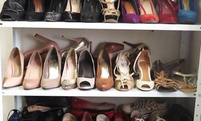 Como organizar sapatos 2